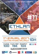 Affiche lan party Ethlan #11