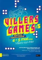Affiche lan party Villers Games #5