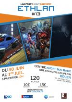 Affiche lan party Ethlan #13